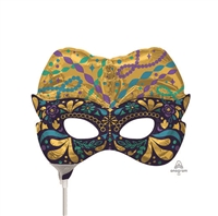 Night in Disguise Mask Foil Balloon