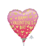 Valentine's Day Pink Ombre Balloon