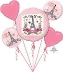 Oui Oui Paris Balloon Bouquet