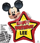 Mickey Mouse Birthday Balloon
