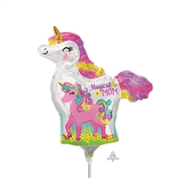 Mama & Baby Unicorn Balloon