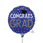 Grad Colorful Dots Balloon