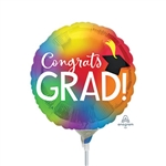 Colorful Grad Balloon