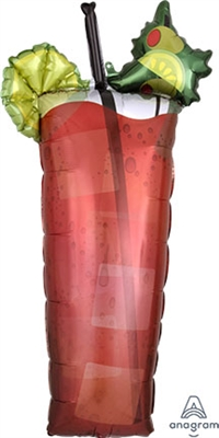 Bloody Mary Foil Balloon