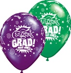 11in Qualatex Congrats Grad Jewel Assortment