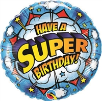Super Birthday Balloon