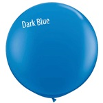 3 foot Qualatex Standard DARK BLUE