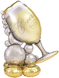 Wine Glass Foil Multi-Balloon
