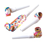 10 inch Printed Paper Blowouts party favors