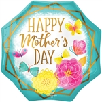Mother's Day Octagon Shape Balloon