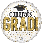 Grad Sparkle Foil Balloon