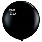 3 foot Qualatex ONYX BLACK