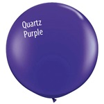 3 foot Qualatex Jewel QUARTZ PURPLE