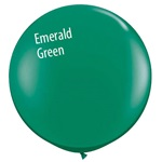 3 foot Qualatex Jewel EMERALD GREEN