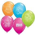 11 inch Qualatex HELLO KITTY Assorted