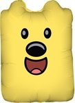 26in Wubbzy Shape Foil Balloon