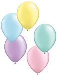 11in PASTEL PEARL Assortment Qualatex