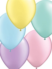 16 inch Qualatex Pastel PEARL Assortment Latex Balloon