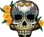38in Day of the Dead Skull