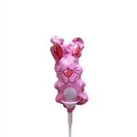 4 inch Pink Bunny Foil Balloon
