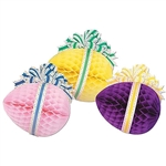 18 inch Decorated 3D Tissue Easter Eggs
