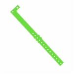 3/4in Plastic Wristband Neon LIME GREEN