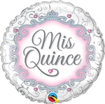 18 inch Mis Quince Joyas - My Fifteen Jewels Foil Balloon