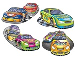 16in Race Car Cutouts