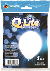 Qualatex White Q-Lite Balloons