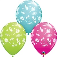 Candies-A-Round Latex Balloons