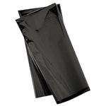 18in x 30in Gleam 'n Wrap Metallic Sheets BLACK, Price Per Package of 3
