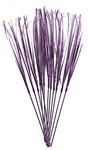 21in Onion Grass Sprays PURPLE, Price Per DOZEN