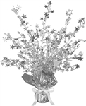 15 inch SILVER Star Gleam n Burst Centerpiece, Price Per EACH