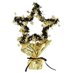 11 1/2in GOLD Star Gleam 'N Shape Centerpiece, Price Per EACH
