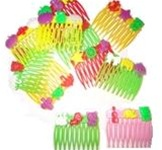2 inch Plastic Comb with Charms