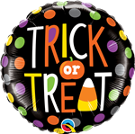18 inch Trick or Treat Dots