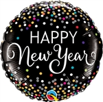 New Year Confetti Balloon
