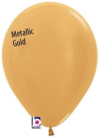 11in Betallatex Metallic GOLD