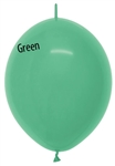 12 inch Link-O-Loon FASHION GREEN, Price Per Bag of 50