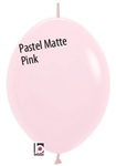 12in Link-O-Loon PASTEL MATTE PINK Betallatex
