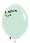 12in Link-O-Loon PASTEL MATTE GREEN Betallatex