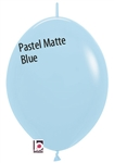 12in Link-O-Loon PASTEL MATTE BLUE Betallatex