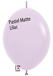 12in Link-O-Loon PASTEL MATTE LILAC Betallatex