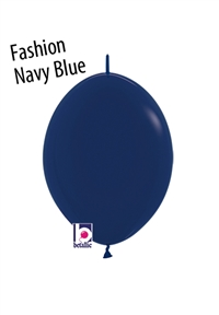 6in Link-O-Loon NAVY BLUE Betallatex