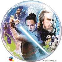 22 inch Star WarsThe Last Jedi Bubble Balloon