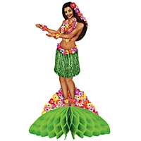 Hula Dance Girl Centerpiece