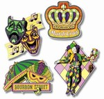Mardi Gras Cutout Assortment