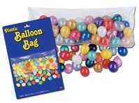 80in x 36in Plastic Balloon Drop Bag