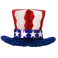 12 inch Patriotic Hat Centerpiece