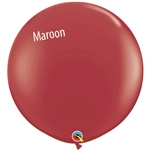 Qualatex MAROON Balloon